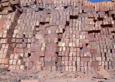 FIRED BRICKS IN CLAMP NFX & NFP WORCESTER BAKSTENE